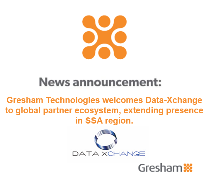 Gresham Technologies welcomes Data-Xchange to global partner ecosystem, extending presence in SSA region