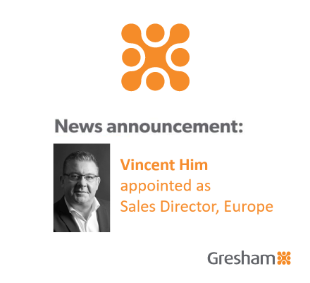Gresham Technologies continues its focus on international growth with Senior European Sales appointment